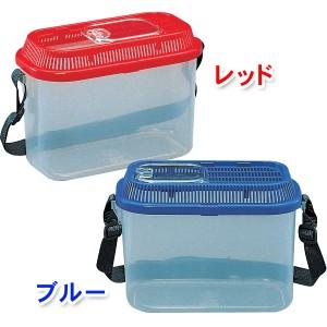 虫とりこぞう(虫かご) SD-200 レッド・ブルー[飼育ケース] アイリスオーヤマ