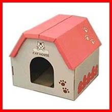 つめとぎBOX ハウス TTB-401H[ペット用品・猫用品・ネコ用品・爪とぎ] アイリスオーヤマ