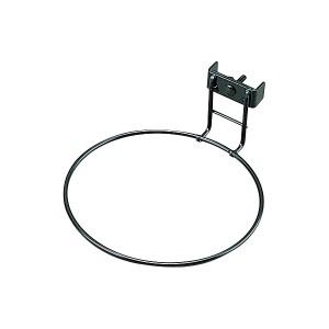≪ペット食器160に適合≫ペット用食器ハンガー SH-160 ブラック アイリスオーヤマ