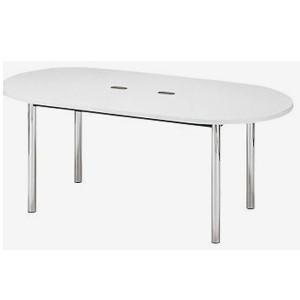 KTH-D1890(ホワイト) 配線ホール付テーブル
