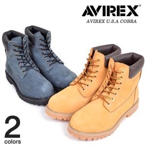【AVIREX U.S.A.】COBRAアビレックスブーツ【お取り寄せ】メンズ サンタリート(AV3000)shoes