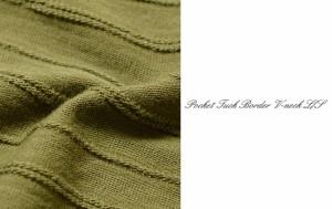 ポケット付タックボーダーVネックロングTシャツ Tシャツ Vネック M L 春 新作 ストリート メンズ サンタリート(BG-5301934)tops