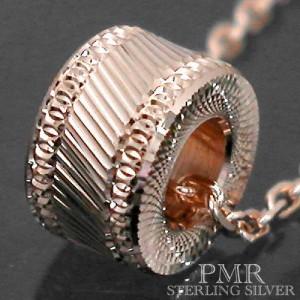 PMR ピーエムアール シルバー ネックレス レディース メンズ カットベビー ピンク RM-PMP408-PK