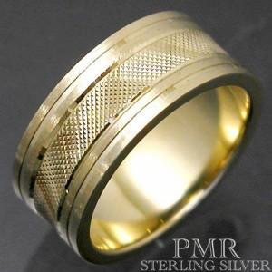 PMR OLTRE ピーエムアールオルトレ シルバー リング 指輪 レディース メンズ ゴールド カット RM-PMR403-GD
