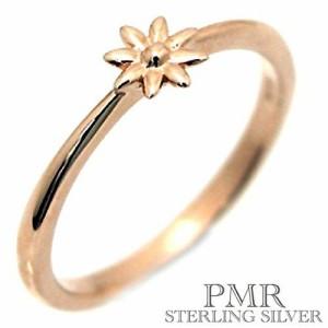 pmr wish ピーエムアールウィッシュ シルバー リング 指輪 レディース フラワー ピンキー RM-WPR232-PK