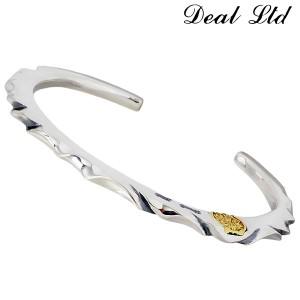 DEAL LTD ディール エルティーディー SLICE CUT BANGLE シルバー バングル メンズ 310226