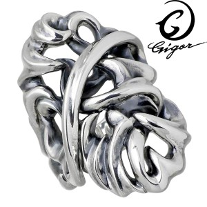 GIGOR ジゴロウ アムテイル シルバー リング 指輪 メンズ 7〜25号 NO-339