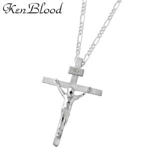 KEN BLOOD ケンブラッド シルバー ネックレス メンズ レディース クロス 十字架 KP-403SV