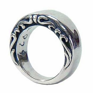 FREE STYLE フリースタイル リング 指輪 レディース シルバー プレーンアラベスク FSR-047L