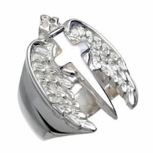 WOLFMAN B.R.S ウルフマン シルバー リング 指輪 メンズ エンジェリッククロス WO-R-21