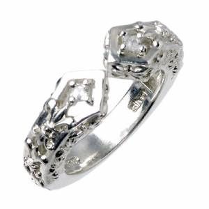 PMR ピーエムアール リング 指輪 レディース シルバー ディヴァイドマイハート PMR335CZ