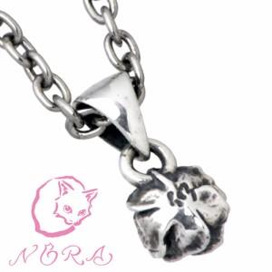 NORA ノラ シルバー ネックレス レディース 小さな薔薇の 40cmチェーン付 バラ ばら NR-P-0002C-40