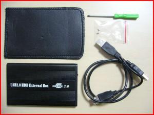 ■IDE外付用 USB 2.5インチハードディスクケース
