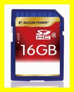 メール便送料無料■SDHCカード 超高速 Class10 SDカード16GB 永久保証 SP