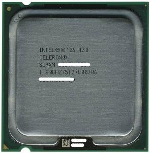 【中古】Celeron 430★1.8GHz FSB800MHz LGA775★SL9XN★【送料180円〜】【即納】≪intel インテル セレロン CPU バルク≫