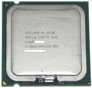 【中古】Core 2 Quad Q9300★2.50GHz FSB1333MHz LGA775 45nm★SLAWE★【送料180円〜】【即納】≪intel インテル Core2Quad core2 cpu≫