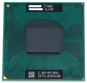 【中古】Core 2 Duo モバイル T7300★2.0GHz FSB800MHz Merom★SLA45★【送料180円〜】【即納】≪intel インテル Core2Duo core2≫