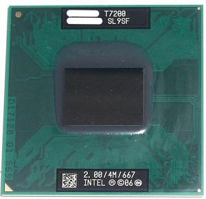 【中古】Core 2 Duo モバイル T7200★2.0GHz FSB667MHz Merom★SL9SF★【送料180円〜】【即納】≪intel インテル Core2Duo core2≫