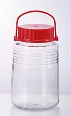 梅酒ビン 5号 4L( 保存ビン 果実酒 びん ガラス )
