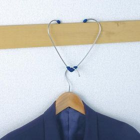 部屋干しフック 鴨居用 ハート型ランドリーキャッチャー 2個入 ( 室内干し 洗濯物干し )