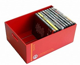 収納ボックス ボンテ デスクトレー M ( CD DVD A4 書類 雑誌 収納 )