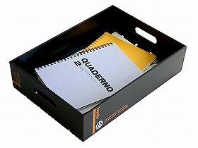 収納ボックス ボンテ デスクトレー L ( CD DVD B4 書類 雑誌 収納 )