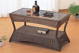 籐[ラタン] テーブル 【T121B】