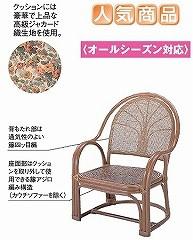 籐[ラタン] アームチェアー 【S105B】