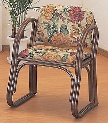 籐[ラタン] 思いやり座椅子 ハイタイプ【S106B】