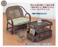 籐[ラタン] センターテーブル 【T501B】