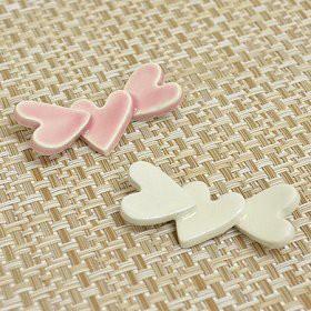 箸置き カタコトハート ピンク