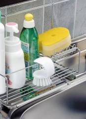 清潔王 掛けられる キッチンブラシ( 掃除 キッチン たわし 台所 )