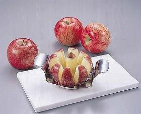 アップルカッター ステンレス製( りんご 便利グッズ キッチン )