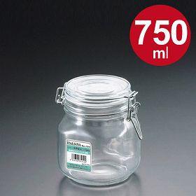 保存容器 ガラス製 角型保存ビン 750ml
