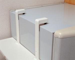 収納棚 冷蔵庫サイドラック( キッチン 冷蔵庫収納 マグネット )