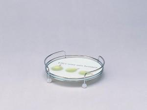 強化ガラス製テーブルセンター1段