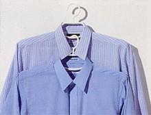 ハンガー 形状安定  シャツ用[ブラック]