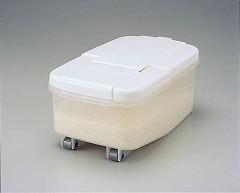 冷蔵庫用米びつ横型 2.5kg用(計量カップ付 ライスボックス )