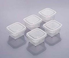 保存容器 ミニミニシール容器 M (5個入り 食品 冷凍 )