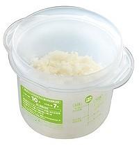 電子レンジ対応 ご飯メーカー(スノコ付き蒸し器対応)( 調理器具 )