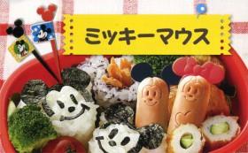 キャラクター ウィンナーカッター ミッキーマウス ( 簡単キャラ弁 お弁当グッズ 子供 )