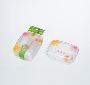 保存容器 プルー フラワーライトパック320 2個入り( 調理器具 電子レンジ )