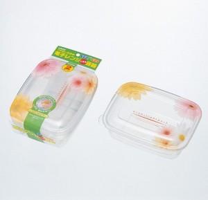 保存容器 プルー フラワーライトパック800 2個入り( 調理器具 電子レンジ )