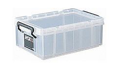 収納ボックス クローゼット用 ロックス 440S 8個セット( フタ付き キャスター取付可 送料無料 )