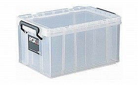 収納ボックス クローゼット用 ロックス 440M 収納ケース( フタ付き キャスター取付可 )
