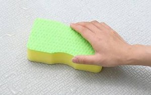 スポンジ ブラシスポンジ ユニットバス用( バススポンジ 風呂スポンジ バスクリーナー 風呂掃除 ブラシ )