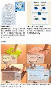 スーパードライバスマット SUSU(スウスウ・吸う吸う) Lサイズ 50×80cm 抗菌仕様 ( 風呂マット )