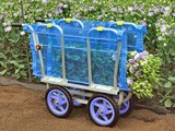 【送料無料】アルミ製 側枠固定式花の収穫台車 AH-510 【ハラックス】【代引不可、北海道、沖縄、離島は送料別途見積もり】