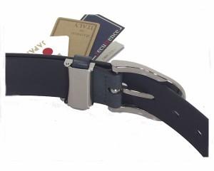 タチヤ 35mm イタリー 再生皮革プレーン ベルト メンズ TACHIYA 【AA007KW-01イタレザ】