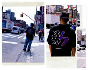 ドリームチーム NY DREAM TEAM T-SHIRTS DJ RYOW プロデュース 2000年初期に流行した、MLB KANJIシリーズをDREAM TEAM風にアレンジした一